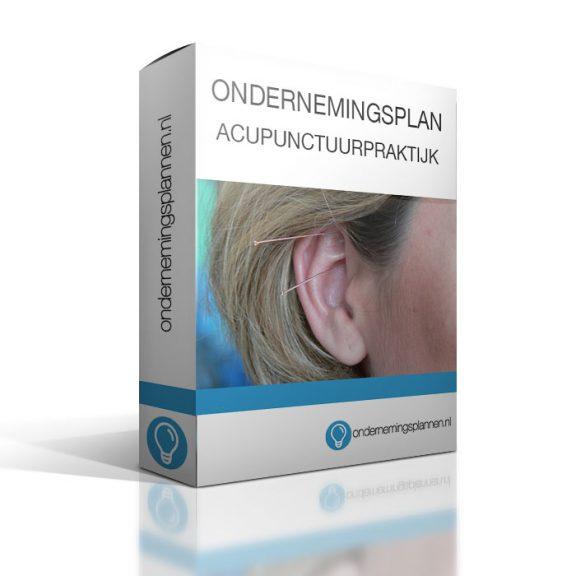 ondernemingsplan acupunctuurpraktijk