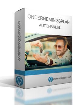 ondernemingsplan autohandel