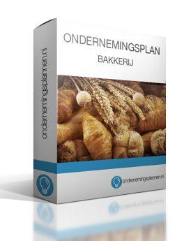 ondernemingsplan bakkerij