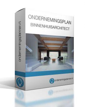 ondernemingsplan binnenhuisarchitect