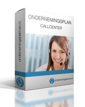 ondernemingsplan callcenter