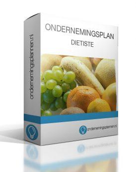 ondernemingsplan dietiste