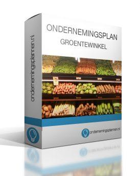 ondernemingsplan groentewinkel