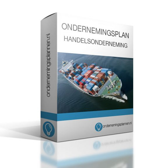 ondernemingsplan handelsonderneming