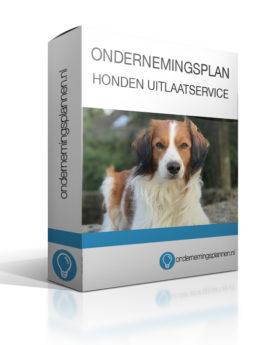 ondernemingsplan honden uitlaatservice