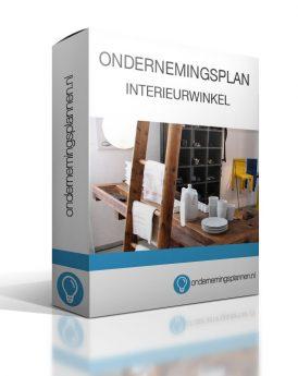 ondernemingsplan interieurwinkel