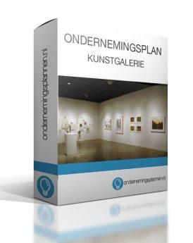 ondernemingsplan kunstgalerie