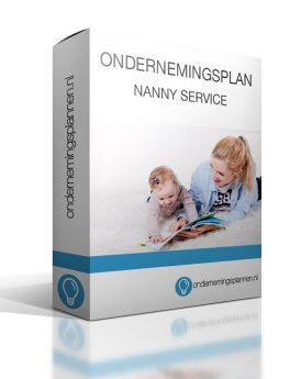 ondernemingsplan nanny service