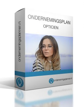 ondernemingsplan opticien