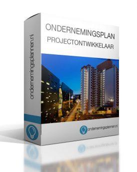 ondernemingsplan projectontwikkelaar