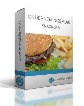 ondernemingsplan snackbar Ondernemingsplan voorbeeld in de branche Horeca ondernemingsplan snackbar