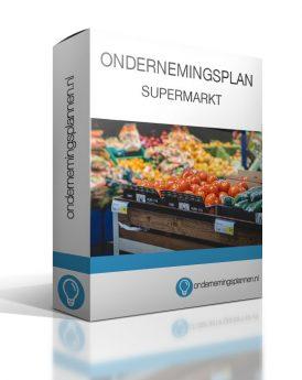 ondernemingsplan supermarkt