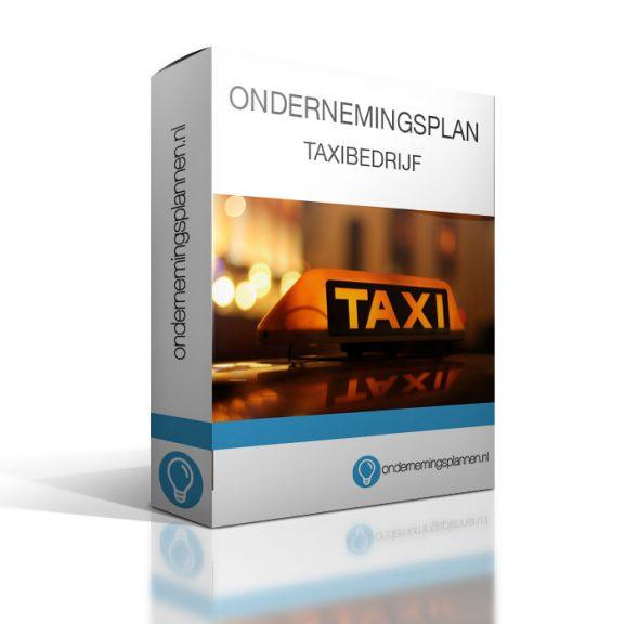 ondernemingsplan taxibedrijf