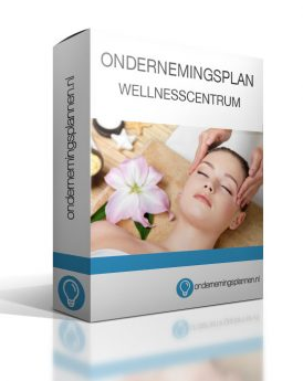 ondernemingsplan wellnesscentrum