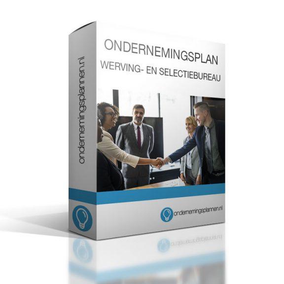ondernemingsplan werving en selectiebureau