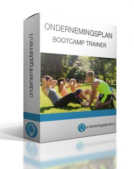 Ondernemingsplan Bootcamp Trainer