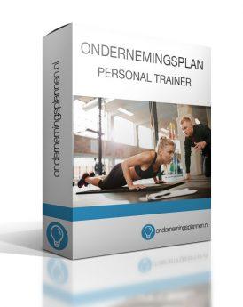 ondernemingsplan personal trainer
