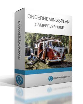 ondernemingsplan camperverhuur