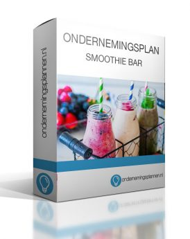 ondernemingsplan smoothie bar