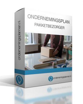 ondernemingsplan pakketbezorger