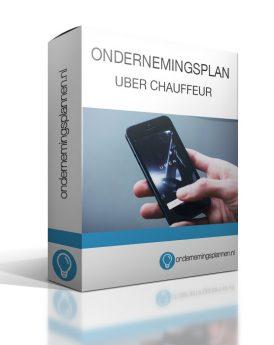 ondernemingsplan uber chauffeur