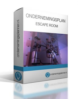 ondernemingsplan escape room