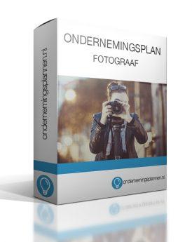 ondernemingsplan fotograaf