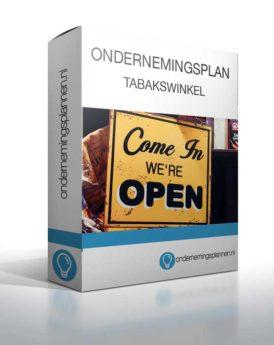 ondernemingsplan tabakswinkel