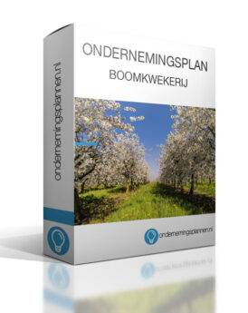 ondernemingsplan boomkwekerij