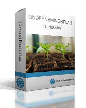 ondernemingsplan tuinbouw